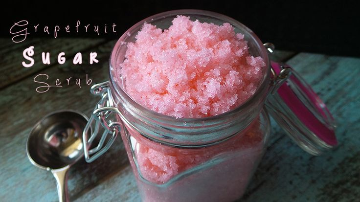Get the recipe for this DIY Grapefruit Sugar Scrub using our Pink Grapefruit Essential Oil over at Mom's Blog @ Mommy Enterprises!