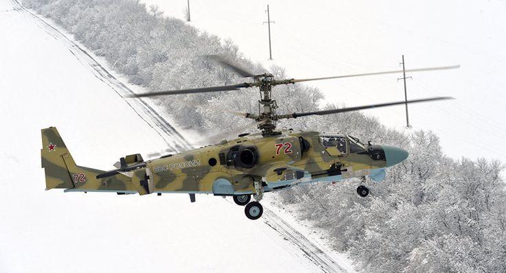 Noticia Final: Helicópteros Ka-52 russos receberão novo sistema d...