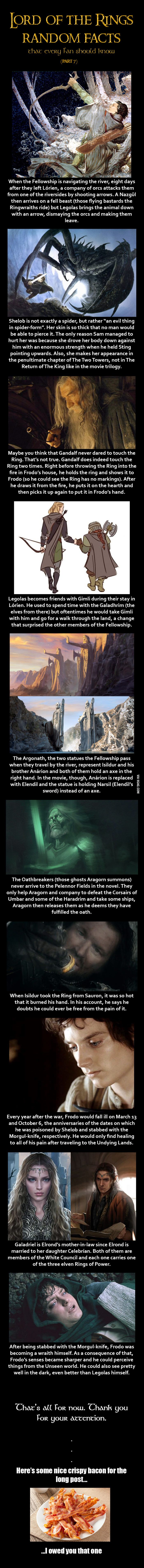 Lotr random facts (7 of 8)