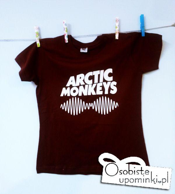 www.osobisteupominki.pl #arctic monkeys  #am #t-shirt #koszulka #prezent #gift #bordo #burgund