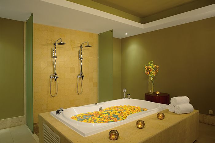 Your very own private VIP spa cabin at Secrets Royal Beach!