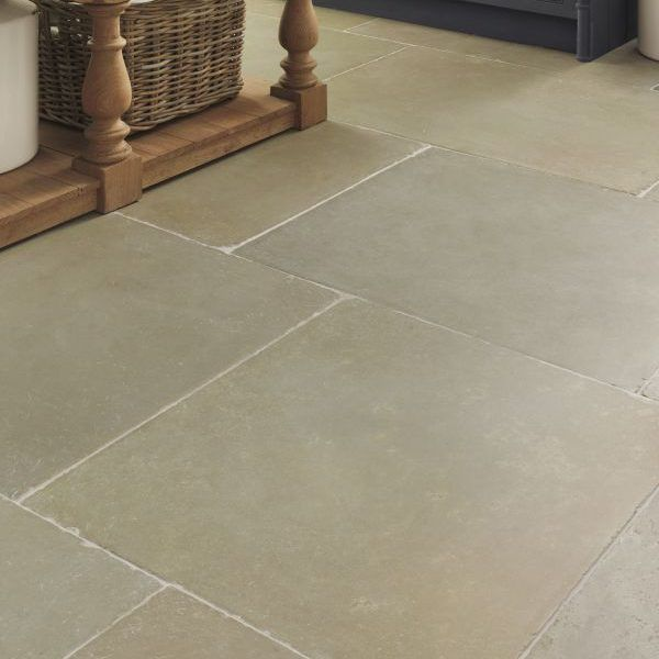 Big, warm and charming, these indestructible Umbria flagstones are amazing for large spaces that make the most of colour tones ranging from greyish green to light ochre. The fine graining scratches a little with use and this adds further to... Read more