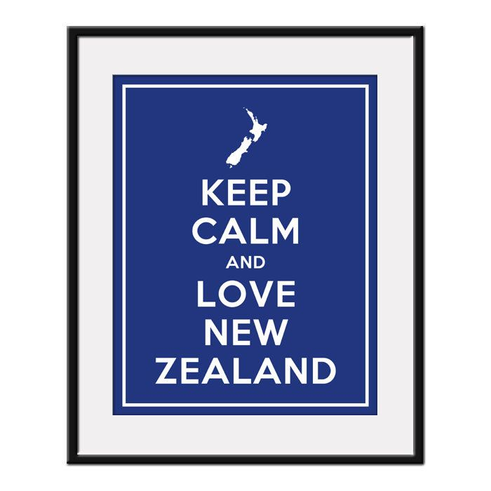 Keep Calm and Love NEW ZEALAND