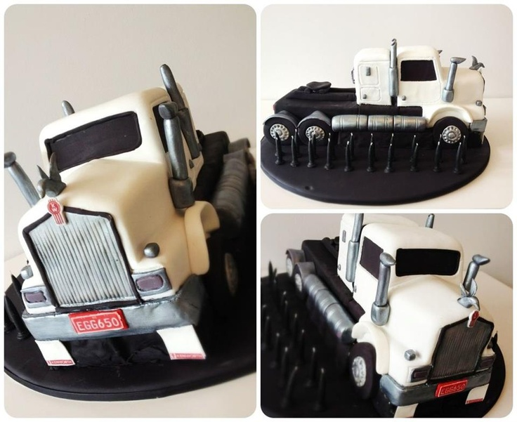 Kenworth Truck by Blackbird Cakes