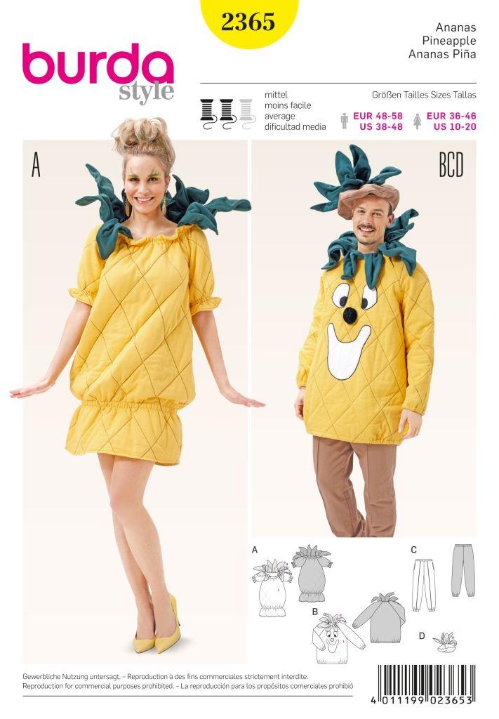 Burda Patroon 2365 - Ananas in variaties