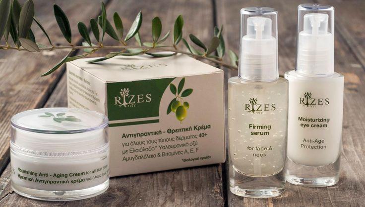 Rizes Crete Cosmetics - Serum + Eye cream