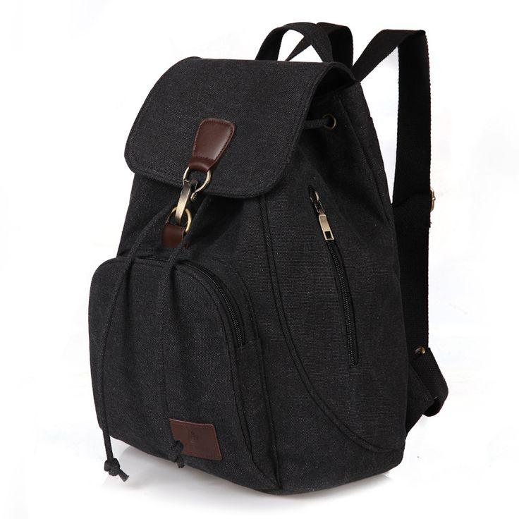 2017 New Canvas Backpack Unisex Bag Women's Vintage Backpacks Boys' School Bag Girls Casual Travel Bags Racksuck mochila XA1859C