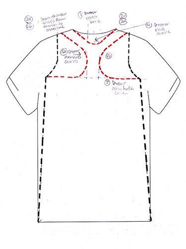 alla Poppy: T-Shirt Surgery: A Racerback Dress