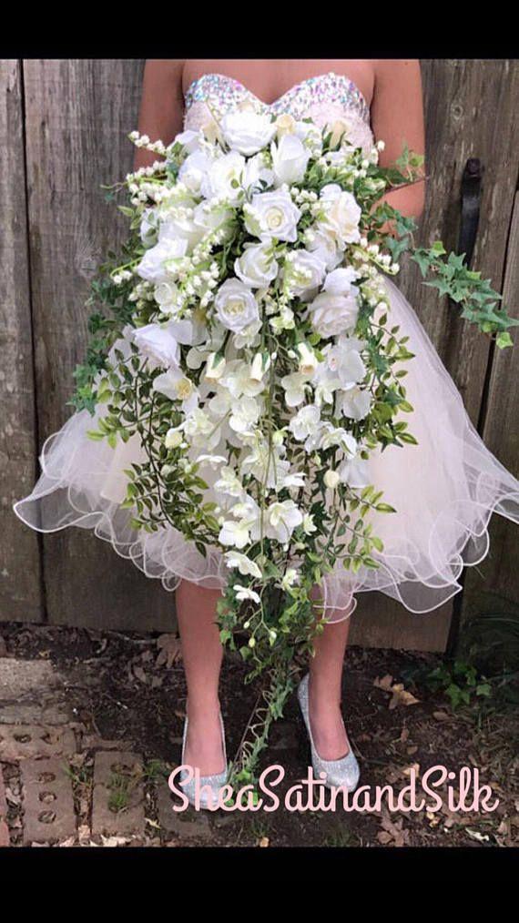 Cascading Princess Diana Replica Royal Wedding Bouquet