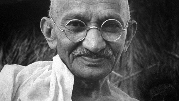 Gandhi by Henri Cartier-Bresson