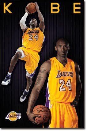 SPT33373 LA Lakers - Kobe Bryant 12 (22 X 34)