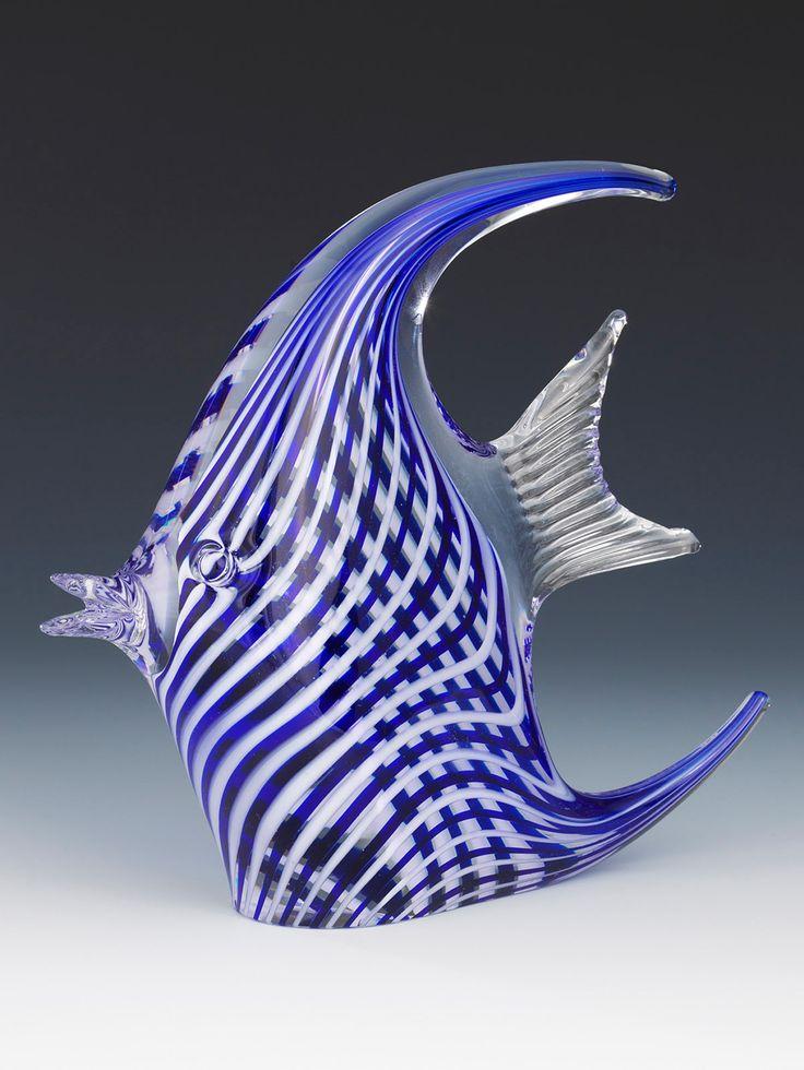 205 tl Çeşm-i Bülbül Melek Balığı Cam Obje,Turkish glass art