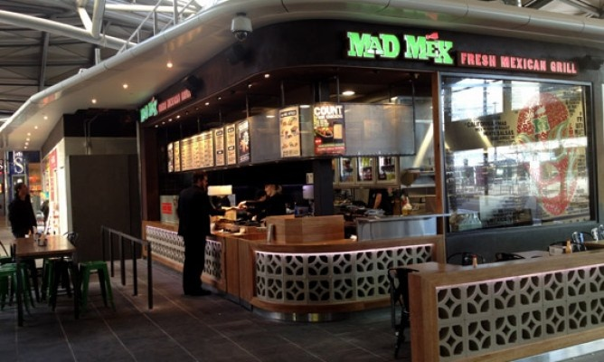 Mad Mex Southern Cross Station!