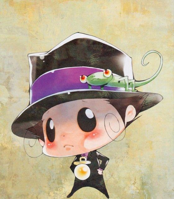 Akira Amano, Katekyo Hitman Reborn!, Leon (Katekyo Hitman Reborn!), Reborn (Character)