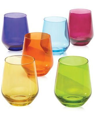 17 best images about cool drinks for hot days nights on pinterest gold wine glasses - Lenox stemless red wine glasses ...