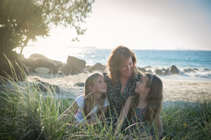 Family portrait of mother and daughters taken by Mel Tucker, family photographer at Little Orange Photography #Photography #family #portrait