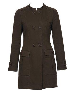 Schnittmuster: Gehrock - leicht tailliert - Lange Jacken - Jacken - Damen - burda style NR. 103-082011-DL