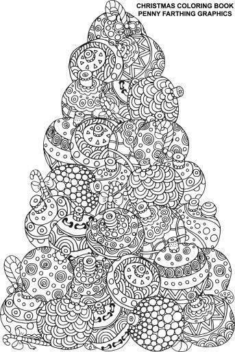 Coloriage Zen Ecole.Coloriage Zen Coloring X Mas Coloriage Noel Coloriage Et