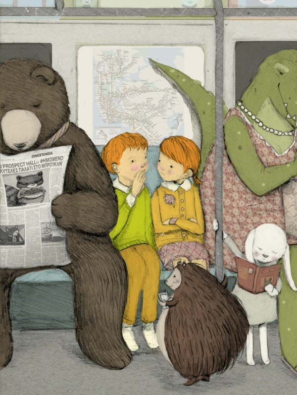 Illustration Friday :: Interview with Stephanie Graegin