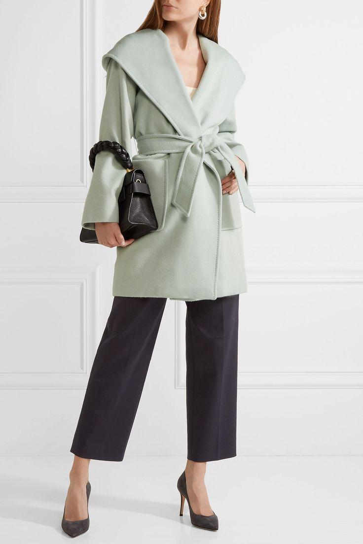 Max Mara | Hooded camel hair coat | NET-A-PORTER.COM