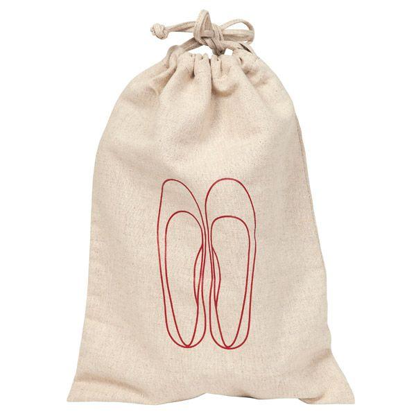Muji Travel Shoes Bag