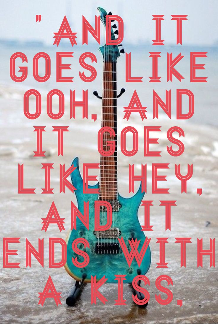 song goes like this lyrics