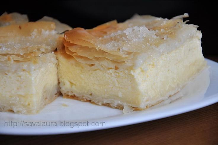 Placinta cu iaurt | Retete culinare cu Laura Sava