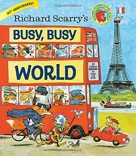 8 best 2016 gift guide images on pinterest books kid books and richard scarrys busy busy world fandeluxe Gallery