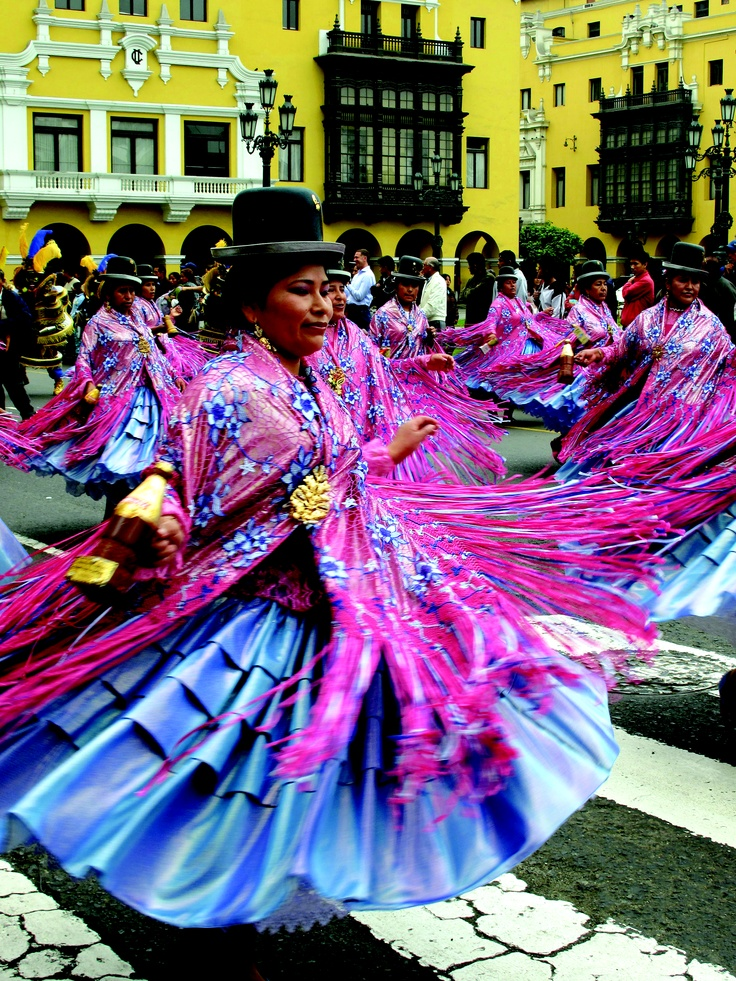 Plaza De Armas Parade in Lima, Peru. Photo by Alison Kincaid