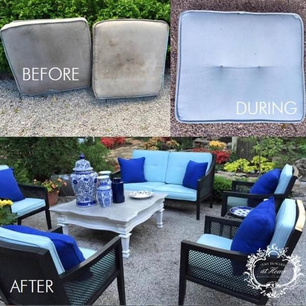 Save Your Patio Furniture With One Step Paint Patio Furniture Cushions Outdoor Furniture Cushions Patio Cushions Outdoor