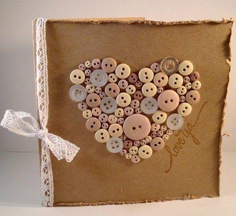 Easy Handmade Valentines day cards photo.