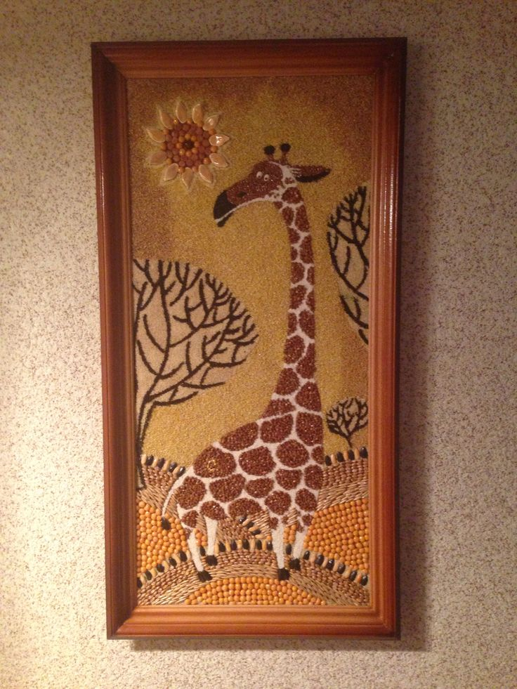 Жираф круп'яний із моєї колекції