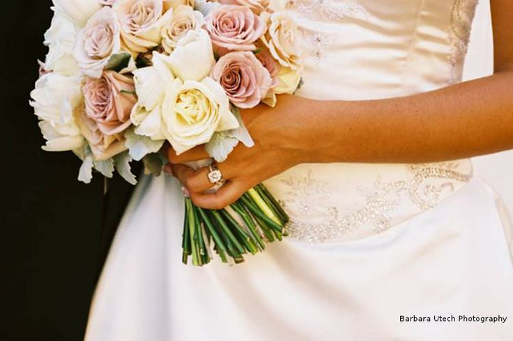 Our stunning mixed rose bouquet. Barbara Utech Photography