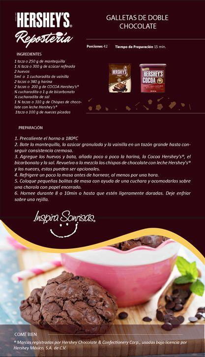 ¿Para qué celebración te gustaría preparar estas galletas? #Chocolate #Recetas…