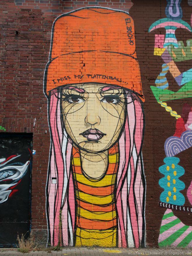 Street Art Cologne I El Bocho I streetart cologne streetartcologne urbanart köln ehrenfeld