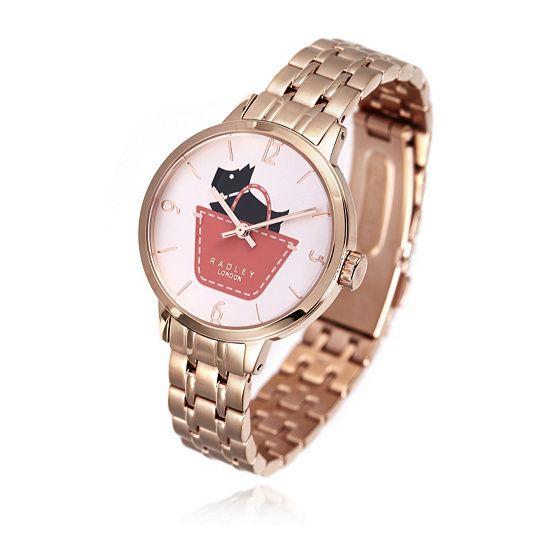Radley London Ladies Watch Border with Link Bracelet Strap order online at QVCUK.com