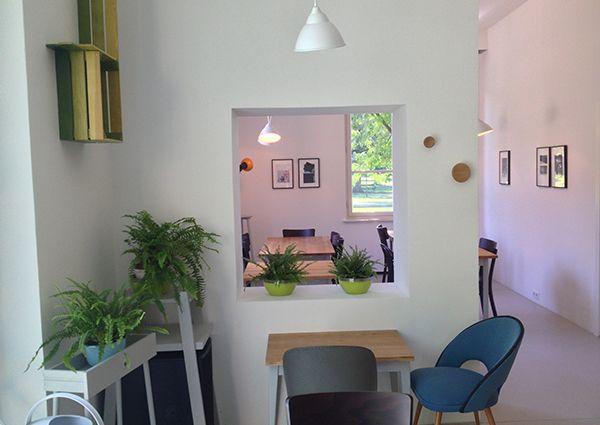 Die Au - Cafe im Augarten - very nice Gin Tonics