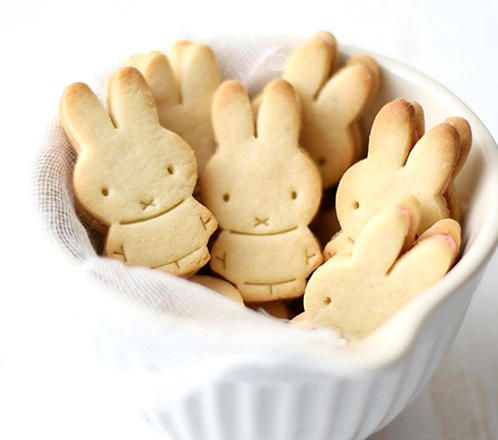 Super cute Miffy cookies,perfect for kids/children's snacks and party.