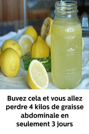 boisson detox minceur citron