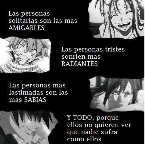 Frases Realidad, Anime, Vida,etc #6181325 || Fairy Tail