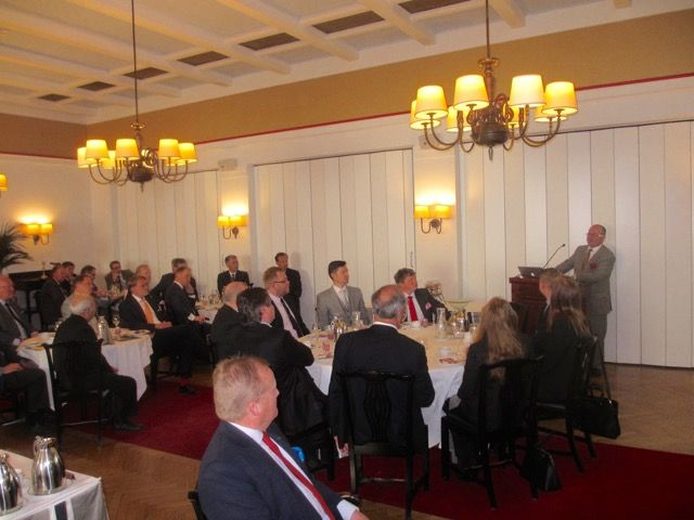 Business Breakfast at Pörssiklubi Date: TUESDAY 17 MAY 2016 BREXIT and the UK Referendum IN/OUT vote to be held on 23rd June 2016 was the topic for a Business Breakfast at the Helsinki Bourse Club on 17th May 2016, where B3CF Chairman, and Finland's member on the Council of British Chambers of Commerce in Europe Public Affairs Committee, Garry Parker, addressed the issues and implications of the vote either way.