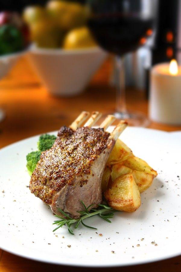 Dinner Recipe: Herb Crusted Rack of Lamb