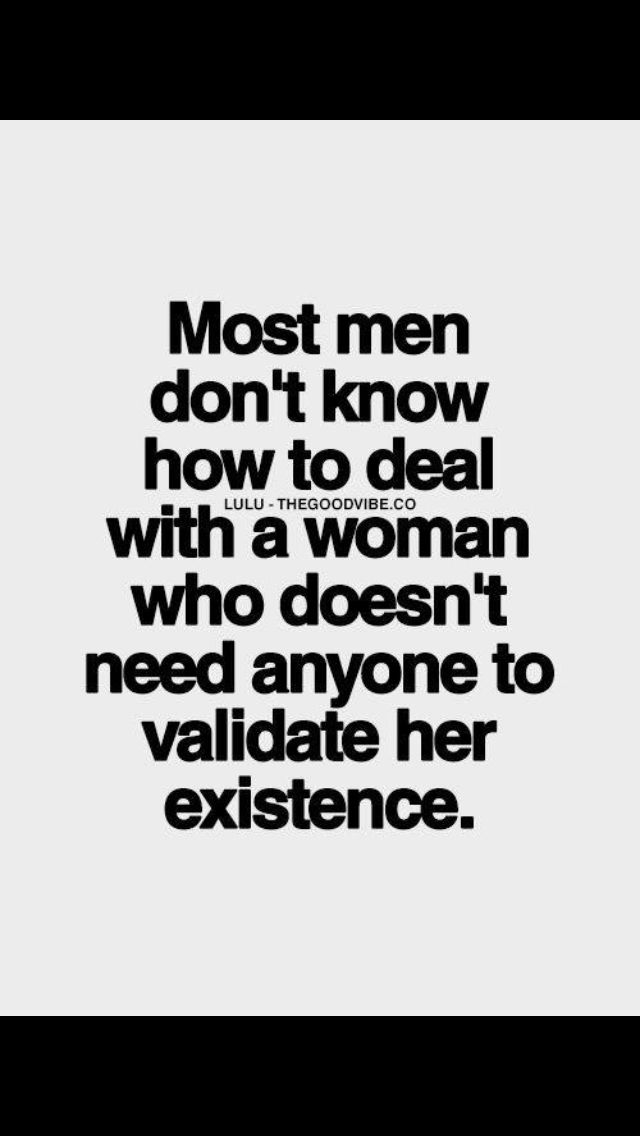 Keyword: Most. This does not apply to all men.