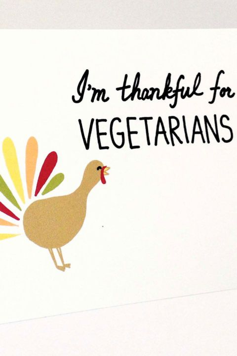 $4 BUY NOW This card is perfect for when you need a little Thanksgiving humor.