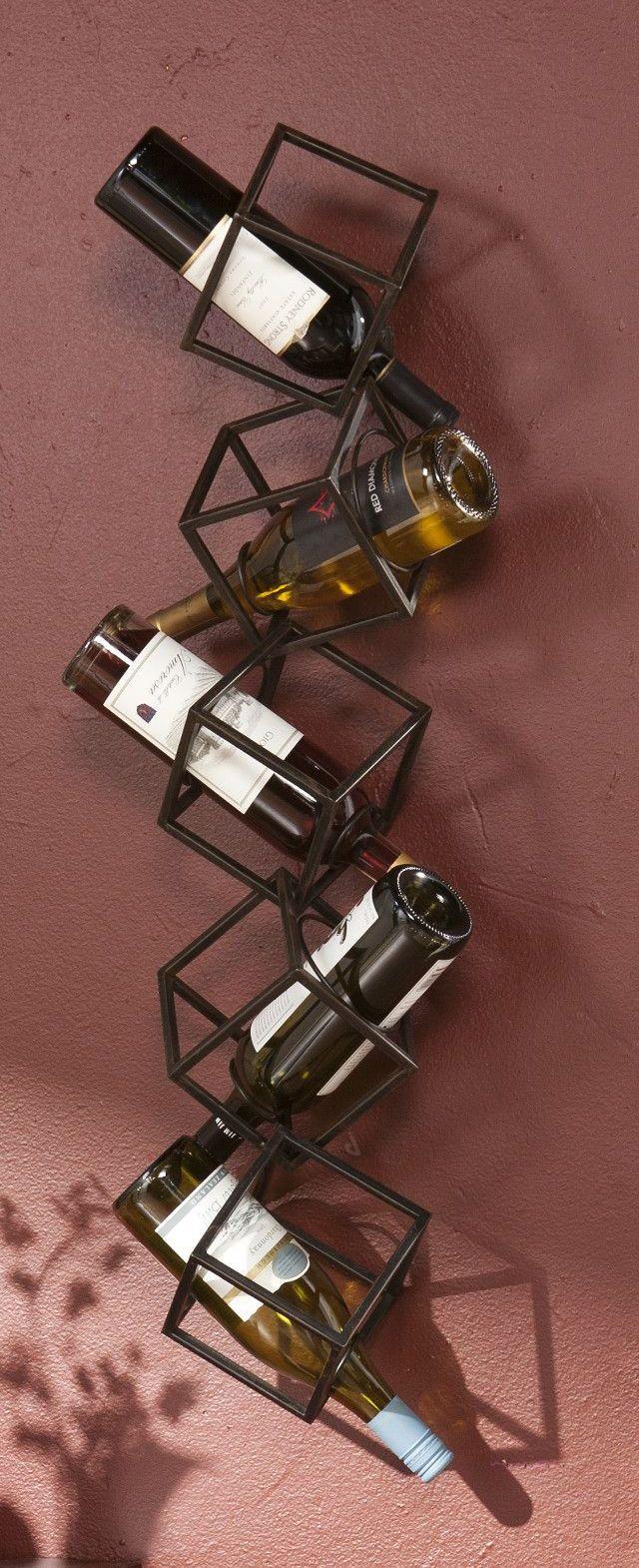 Support bouteilles de vin