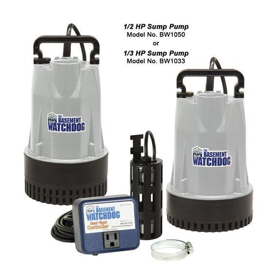 Basement Watchdog Bw Series Sump Pump Sump Pump Submersible Sump Pump Sump