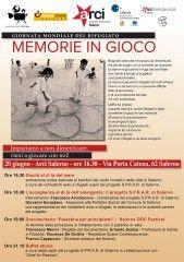 """Il 20 giugno la Giornata """"Mondiale del Rifugiato"""" - a Salerno, """"Memorie in gioco"""" e Documentario - http://virgiliosalerno.myblog.it/archive/2013/06/18/il-20-giugno-giornata-mondiale-del-rifugiato-a-salerno-memor.html"""