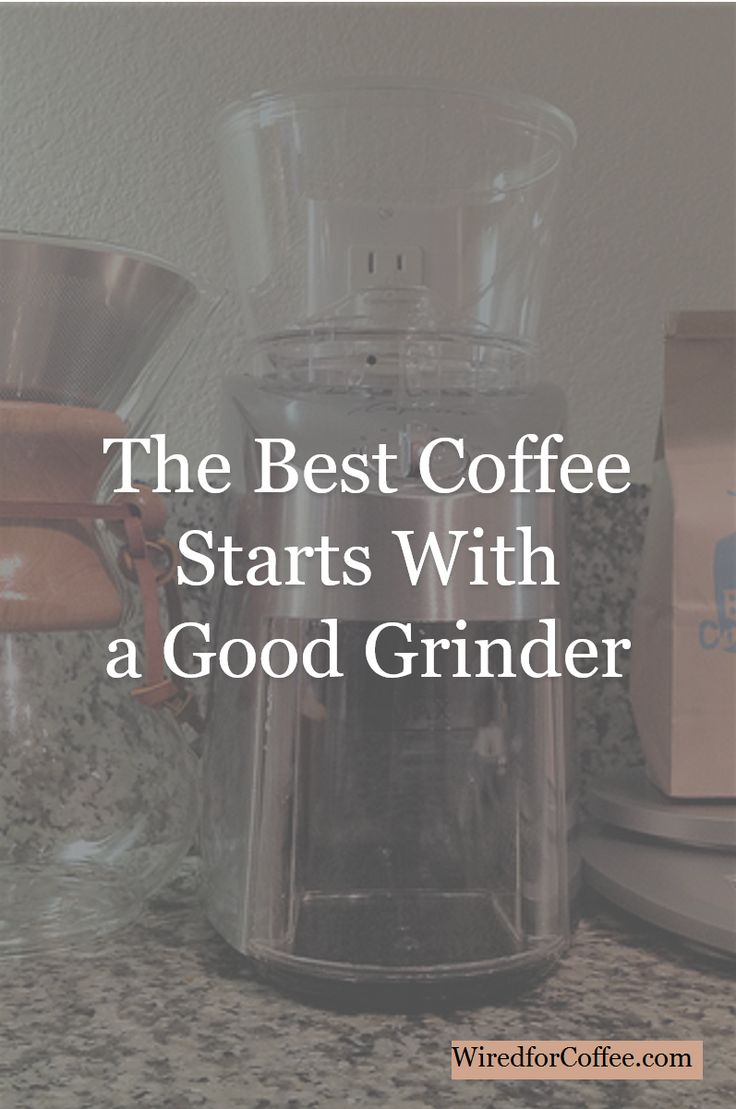 To get the best coffee, you need to do your own grinding. Here's why.