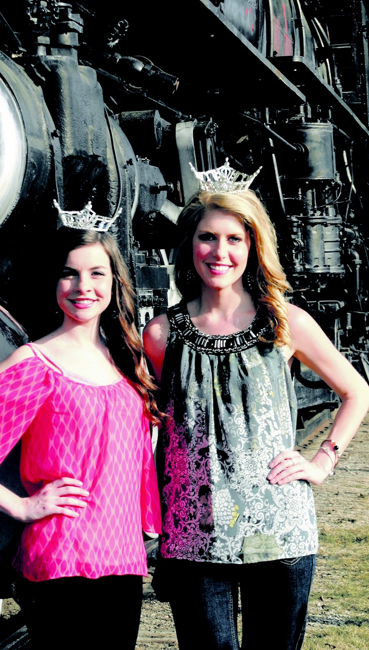 Presiding over the 34th Railroad Festival this year were Miss Amory Railroad Festival 2012 Ashley Forester (left) of Holly Springs and Miss Amory Railroad Festival's Outstanding Teen C.J. Williams of Tupelo. To see more pictures, visit Monroe360.com.