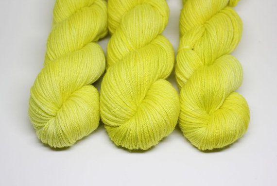 Limoncello - Castaway DK - 100% Superwash Merino | Stranded Dyeworks